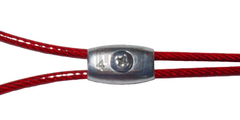 Tiller Clamps, Wire Rope